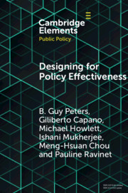 Elements in Public Policy