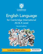 Cambridge International AS and A Level English Language Coursebook Cambridge Elevate Edition (2 Years)