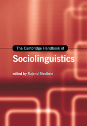 Cambridge handbook sociolinguistics sociolinguistics cambridge look inside the cambridge handbook of sociolinguistics fandeluxe Image collections