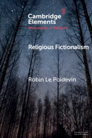 Elements in the Philosophy of Religion