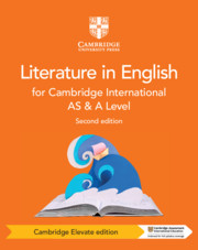 Cambridge International AS & A Level Literature in English Coursebook Cambridge Elevate Edition (2 Years)
