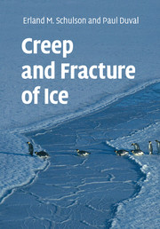 Creep and Fracture of Ice