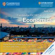 Cambridge IGCSE® and O Level Economics Cambridge Elevate Teacher's Resource Access Card