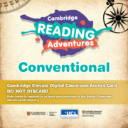 Cambridge Reading Adventures Pathfinders to Voyagers Conventional Cambridge Elevate Digital Classroom Access Card (1 Year)