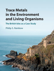 Trace Metals in the Environment and Living Organisms