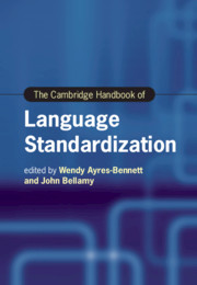 The Cambridge Handbook of Language Standardization