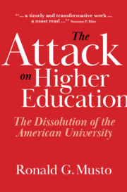 The Attack on Higher Education