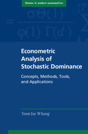 Econometric Analysis of Stochastic Dominance