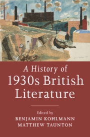 A History of 1930s British Literature