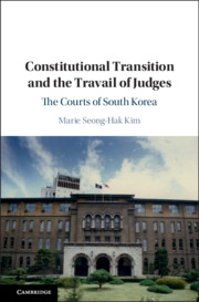 Political Transitions and the Travail of Judges