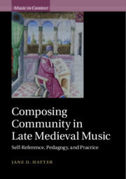 Composing Community in Late Medieval Music