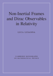 Non-Intertial Frames and Dirac Observables in Relativity