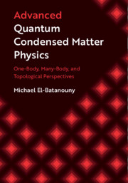 Advanced Quantum Condensed Matter Physics