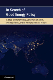 In Search of Good Energy Policy