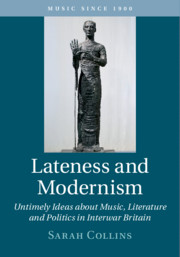 Lateness and Modernism