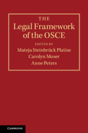 The Legal Framework of the OSCE