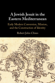 A Jewish Jesuit in the Eastern Mediterranean