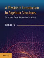 A Physicist's Introduction to Algebraic Structures