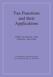 Tau Functions and their Applications