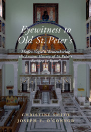 Eyewitness to Old St Peter's Basilica