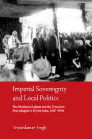Imperial Sovereignty and Local Politics
