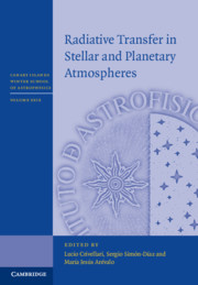 Radiative Transfer in Stellar and Planetary Atmospheres