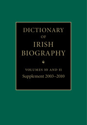 Dictionary of Irish Biography