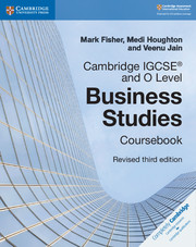 Cambridge IGCSE ® and O Level Business Studies