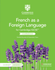 Cambridge IGCSE™ French as a Foreign Language Coursebook with Audio CDs (2) and Cambridge Elevate Enhanced Edition (2 Years)