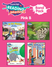 Cambridge Reading Adventures Pink B Band Pack