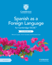 Cambridge IGCSE™ Spanish as a Foreign Language Coursebook with Audio CD