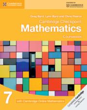 Cambridge Checkpoint Mathematics Coursebook 7 with Cambridge Online Mathematics (1 Year)