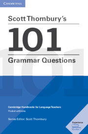 Scott Thornbury's 101 Grammar Questions