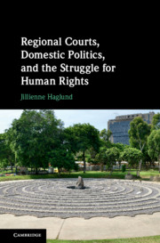Regional Courts, Domestic Politics, and the Struggle for Human Rights