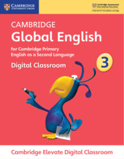 Cambridge Global English Stage 3 Cambridge Elevate Digital Classroom (1 Year)