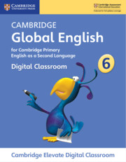 Cambridge Global English Stage 6 Cambridge Elevate Digital Classroom (1 Year)