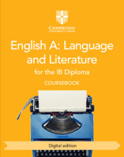 English A: Language and Literature for the IB Diploma Coursebook Cambridge Elevate Edition