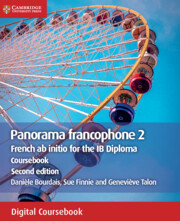 Panorama francophone 2 Coursebook Cambridge Elevate edition (2 Years)