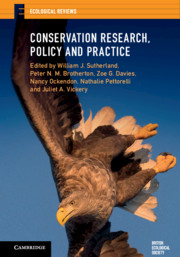 Conservation Research, Policy and Practice