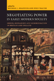 Negotiating Power in Early Modern Society