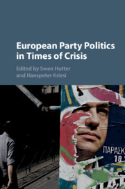 European Party Politics in Times of Crisis