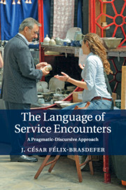 The Language of Service Encounters