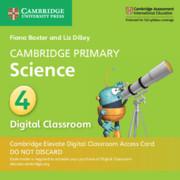 Cambridge Primary Science Stage 4 Cambridge Elevate Digital Classroom Access Card (1 Year)