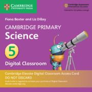 Cambridge Primary Science Stage 5 Cambridge Elevate Digital Classroom Access Card (1 Year)