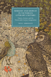 Mimicry and Display in Victorian Literary Culture