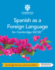 Cambridge IGCSE™ Spanish as a Foreign Language Coursebook Cambridge Elevate Enhanced Edition (2 Years)
