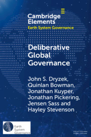 Elements in Earth System Governance