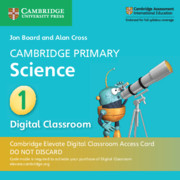 Cambridge Primary Science Stage 1 Cambridge Elevate Digital Classroom Access Card (1 Year)