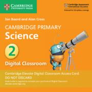 Cambridge Primary Science Stage 2 Cambridge Elevate Digital Classroom Access Card (1 Year)