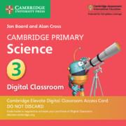 Cambridge Primary Science Stage 3 Cambridge Elevate Digital Classroom Access Card (1 Year)